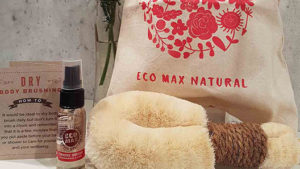 Eco Max Small Body Brush Gift Bag