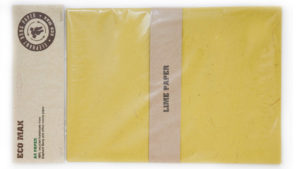 Maximus elephant dung paper lime hang-sell pack
