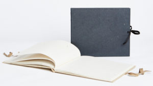 Maximus elephant dung paper black tied journal
