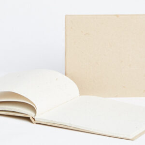 Maximus elephant dung paper Natural tied journal
