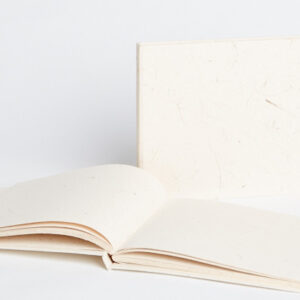 Maximus Elephant dung paper white tied journal